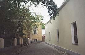 Большой Лёвшинский переулок на фотографии Александра Ласа, 2000 год